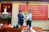 Tân Tổng Thanh tra Chính phủ Đoàn Hồng Phong nhận bàn giao nhiệm vụ