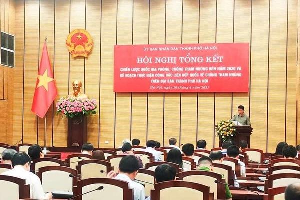 Tự kiểm tra nội bộ, Hà Nội chưa phát hiện cán bộ tham nhũng