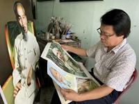 Người vẽ hơn 700 bức tranh về Bác Hồ