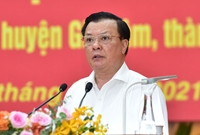 """Vận động bầu cử, Bí thư Hà Nội nói Phải thực hiện tốt, tránh tiêu cực """"băm nát"""" quy hoạch"""