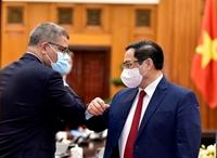 Thủ tướng Chính phủ Phạm Minh Chính tiếp Chủ tịch COP26