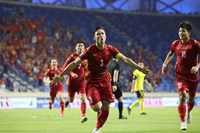 Chiến thắng lần 2 trên sân UAE Dinh dưỡng vàng đồng hành cùng bước tiến chiến thắng của đội tuyển Việt Nam