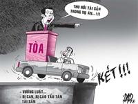 Phong tỏa tài khoản, không để tẩu tán tài sản của các đối tượng tham nhũng