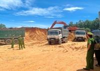 Ngăn chặn khai thác khoáng sản trái phép trên địa bàn tỉnh