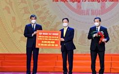 T T Group ủng hộ 30 tỷ đồng cho chương trình tiêm vắc xin phòng COVID-19 của TP Hà Nội