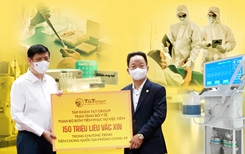 T T Group tài trợ 20 tỷ đồng mua trang thiết bị y tế giúp một số địa phương phòng, chống dịch COVID-19