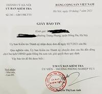 Chủ tịch Hà Nội giao Thanh tra thành phố vào cuộc