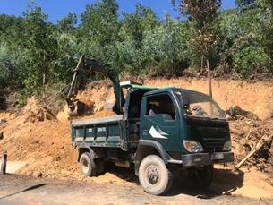 Xử nghiêm hành vi trộm đất ở huyện Hoà Vang