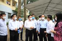 Hà Nội Kiểm tra phòng, chống dịch của cơ quan, doanh nghiệp Trung ương đóng trên địa bàn TP