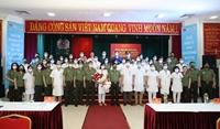 Thêm 100 y, bác sĩ công an nhân dân chi viện, tiếp sức cho TP HCM chống dịch