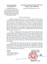 """Công ty Đông Lý phản ánh Công ty Định An """"tranh cướp"""" mỏ đất ở huyện Như Thanh"""