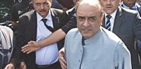 Ấn định ngày truy tố cựu Tổng thống Asif Ali Zardari