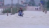 Mưa lớn dồn dập tại miền Trung vào tháng 10, 11
