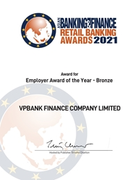 """FE CREDIT """"thắng lớn"""" 2 giải thưởng """"THE ASIAN BANKING AND FINANCE"""""""