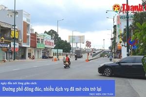 TP HCM ngày đầu nới lỏng giãn cách: Đường phố đông đúc, nhiều dịch vụ đã mở cửa trở lại