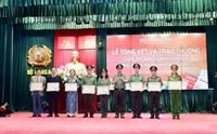 Tổng kết, trao thưởng Cuộc thi Đại sứ văn hóa đọc trong Công an nhân dân năm 2021