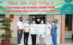Trao tặng 50 000 sản phẩm Vinamilk ColosGold cho con em cán bộ y, bác sĩ tuyến đầu