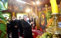 Đức Pháp chủ Giáo hội Phật giáo Việt Nam Thích Phổ Tuệ đã đóng góp cho Phật giáo và dân tộc